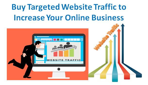 buy targeted website traffic to increase your online business